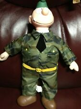 Beatle Bailey Sarge Vintage Camoflauge Fatigues Plush Army Military