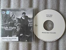 CD-KNOCKOUT-TRIPLE EIGHT-POP-(CD SINGLE)-2003- 1 TRACK