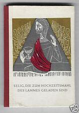 Hochzeitsmahl des Lammes (illustriert)   1960