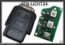VW Klappschlüssel Sendeeinheit eckig 3 Tasten 1J0959753DJ 1J0 959 753 DJ 434Mhz