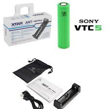 KIT Xtar ANT MC1 Ladegerät + Sony VTC5 18650 Li-Ion Akku Konion Power istick