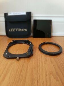 Lee Big Stopper 10 w/ Formatt Hitech 100 mm filter holder + 77mm Lens Adapter