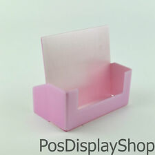 Light Pink / Baby Pink A5 Leaflet Dispenser / Brochure / Card Holder