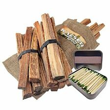 3lb Fatwood Sticks Hand Cut in USA  Strike Almost Anywhere Matches In Tin Can