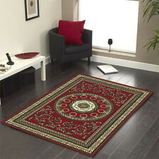 Floor Rug Persian Traditional Designer Red 230 x 160 FREE DELIVERY 7480