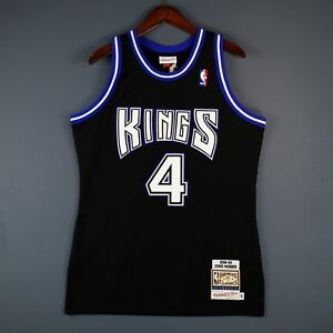 100% Authentic Chris Webber Mitchell & Ness 98 99 Kings Jersey Size 40 M Mens