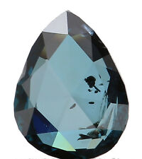 Natural Loose Diamond Blue Color Pear SI2 Clarity 5.90X4.50X1.60MM 0.35 Ct L4847