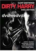 Dirty Harry DVD Clint Eastwood 5 Film Collection New Sealed plays worldwide