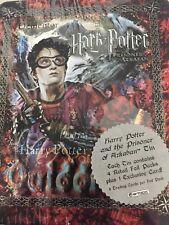 HARRY POTTER PRISONER OF AZKABAN POA 2004 ARTBOX COLLECTIBLE TIN & 4 PKS HARRY