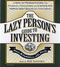 The Lazy Person's Guide To Investing 3-CD Audiobook - NEW - FREE SHIPPING