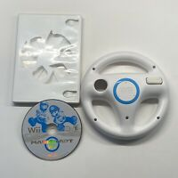 Nintendo Wii Mario Kart Game Disc Only with Official Steering Wheel TESTED!!