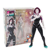 Amazing Yamaguchi Revoltech Series Spider Gwen Stacy PVC Action Figure Model Toy