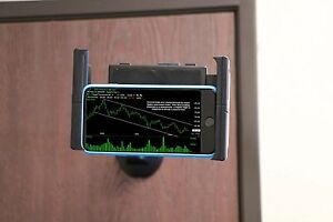 Mobotron MH-209 Universal Wall-Mount Tablet Smartphone Holder for iPads,