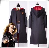 kid's Adult's Harry Potter Hermione Granger Gryffindor Uniform Cosplay Costume