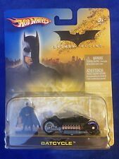 2005 Hot Wheels Batman Begins w/ Figure - Batcycle