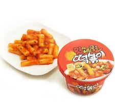 Korean Spicy Rice Cake Instant Tteokbokki Korean Food Snack 1ea 2ea 3ea 4ea 8ea