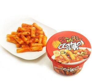 Korean Spicy Rice Cake Instant Tteokbokki Korean Food Snack 1ea 2ea 3ea 4ea 8ea