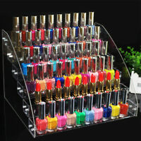 IG_ Cg_ Clear Nail Polish Rack Organizer Display Holder Shelf Cosmetic Varnish S