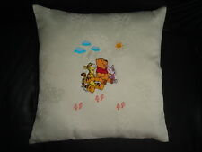 Winnie The Pooh Embroidered  Pillow Cushion Cover 16''x 16''  #2