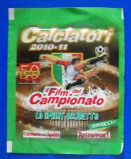 BUSTINA SPECIALE FIGURINE CALCIATORI PANINI 2010/11 - V9-V16 LO SPRINT SCUDETTO