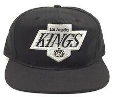 Vintage Los Angeles Kings Annco Black Hockey Nhl Snapback Hat Nwa Hip Hop Eazy E