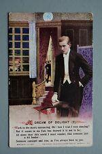 R&L Postcard: Bamforth Song 4978/2 Dream of Delight, Dancer Gent