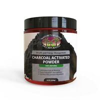 Food Grade Activated Charcoal Powder Wild Harvested 8OZ;Detoxifies,Whiten Teeth