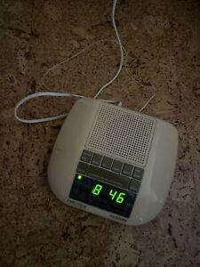 Retro Audioline CLR Time Trak sprechendes Uhrenradio funktionsfähig Radio Wecker