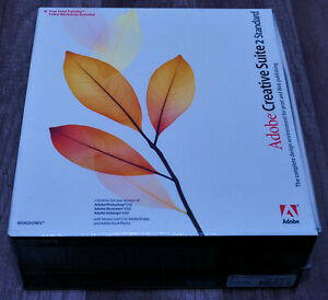 Adobe Creative Suite 2 Standard BRAND NEW  sealed in box 28030210 Windows XP-7