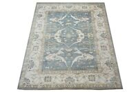 "9X12 Antique-Green Oushak Hand-Knotted Wool Rug Oriental Carpet (9'5"" x 11'10"")"