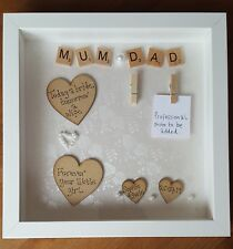 Mother & Father of the Bride & Groom Box Photo Frame Wedding Thank You Gift