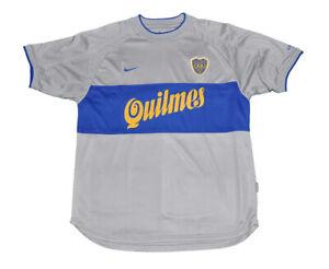 Boca Junior short sleeves Jersey shirt Nike L 2000 third model Gray