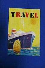 Vintage Original Barbie Midge Aboard Ship #1631 - Travel Poster - 964 1965