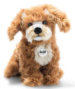 Steiff Curlie the Cockapoo - collectable plush puppy dog - 24cm - 076909