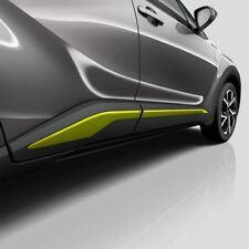 Genuine Toyota C-HR Lime Green Side Sills - PW156-10000-GF