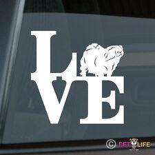 Love Pekingese Sticker Die Cut Vinyl - park peke lion dog