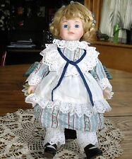 """Seymour Mann 14"""" Doll Gretal Porcelain Blonde ~"""
