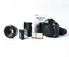 Canon EOS 5D Mark II + 50mm Lens + 2 x 32G CF CARDS + Charger