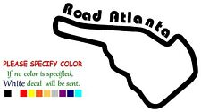 "Road Atlanta Race Track Funny Vinyl Decal Sticker Car Window bumper laptop 7"""