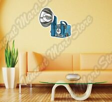 "Vintage Retro Photo Camera Photographer Wall Sticker Room Interior Decor 22""X22"""