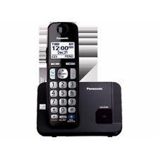 NEW Panasonic Consumer Dect 6.0- 1 Handset- Big Buttons- Black Kx-tge210b