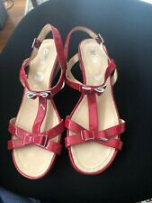 """Ladies Shoes/Sandals""""Ara"""" Red Patent Leather"""