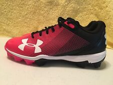 UNDER ARMOUR Girl's LEADOFF LOW RM JR. SOFTBALL CLEATS  YOUTH SIZE - 6 PINK  NEW