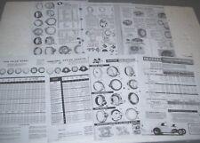 Trans Dapt Offenhauser  Cragar  Transmission adapter Info Part #s pictures