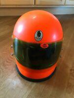 Vintage 70's Original Romer Motorcycle Helmet Germany size 58 cm  medium