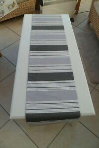 Retro Table Runner  12.5 by 55 inches - Prestigious Textiles 'Stripe' Design