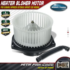 HVAC Blower Heater Motor w/Fan Cage for Infiniti I35 Subaru Baja Impreza 700050
