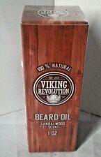 Viking Revolution Sandalwood Scent Beard Oil 1 oz