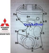 1995 1999 Talon TSi Eclipse GST & GSX 4g63 OEM Timing Cover Bolt Kit NEW
