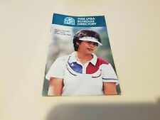 LPGA 1988 Women's Golf Pocket Schedule Booklet - Rolex